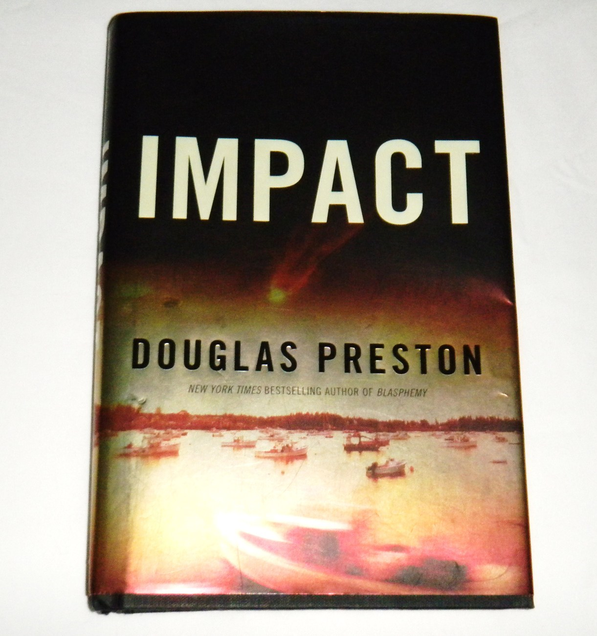 Impact by Douglas Preston (2010, Hardcover) Book Novel