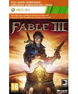 Fable III{3} xbox 360/ONE game Full download ca... - $12.90