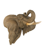 Wall Plaque realistic pachyderm two foot high j... - $44.95