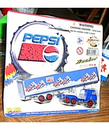 Pepsi Trucker Tractor Trailer Die Cast NIB - $7.99