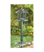 Gazebo  standing  Birdfeeder look of sculpted ... - $18.99