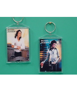 Michael Jackson 2 Photo Designer Collectible Ke... - $9.95