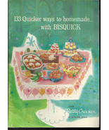 133 Quicker ways to homemade with Bisquick  pam... - $3.50