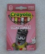 Once Bitten Halloween Crayola 8 Crayons in Box ... - $6.99
