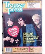 Trouser Press TP 87 Wall of Voodoo, Stranglers, Ultravox