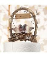 Love Nest in Archway Birds Cake Topper Wedding ... - $38.19 - $53.04