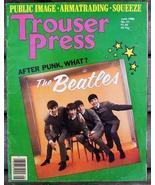 Trouser Press TP 51 Beatles cover, Public Image... - $6.99