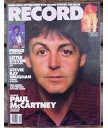 Record Magazine Vol 3 No 11 Paul McCartney cover
