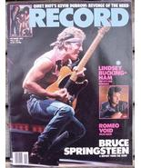 Record Magazine Vol 4 No 1 Bruce Springsteen cover - $6.99