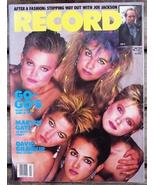Record Magazine Vol 3 No 9 The Go-Go's cover