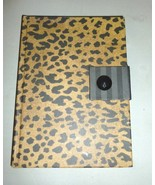 FIDDLESTIX PAPERIE TAN & BLACK LEOPARD ANIMAL P... - $12.99