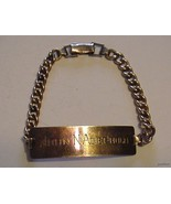 Nice Vintage 1/20-12K Gold Filled Engraved ID B... - $65.29