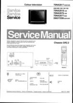 Philips 70NA2818 10B Technical Repair Schematic... - $12.70