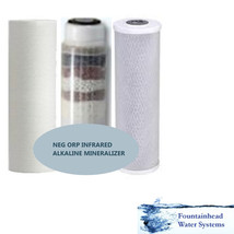 Replacement Or Upgrade Water System Filters. Sed/Carbon/Neg Orp Far Infrared - $57.42