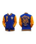 SIGMA GAMMA RHO Blue Gold fleece Jacket Sigma G... - $62.69
