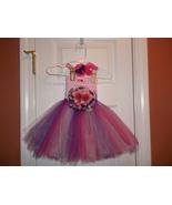 BABY GIRL LONG PINKS & PURPLE TUTU PHOTO PROP D... - $20.00