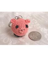 Amigurumi Kawaii Pig Piglet Pink Cute Crocheted... - $10.00