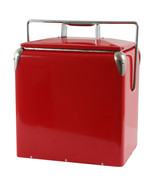 NEW Picnic Cooler Red Built in Bottle Opener Re... - $88.36