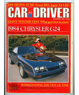 Dec 1982 CAR & DRIVER MAGAZINE MSE-T/A, INDY Pa... - $12.86