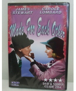 DVD New Made for Each Other James Stewart and C... - $2.50