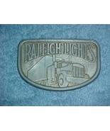 Raleigh Lights Belt Buckle - $7.99