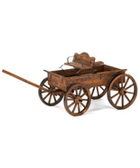 Rustic Wagon Garden Cart Decor - $140.00