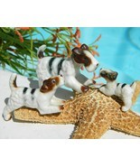Vintage Wire Fox Terrier Dog Family Miniature T... - $18.95