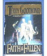 Faith of the Fallen by Terry Goodkind   - $8.00