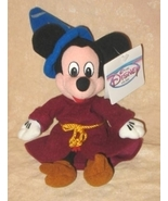 Disney Mickey Mouse Sorcerers Apprentice Plush... - $15.00