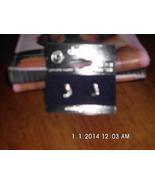 Sterling Silver Genuine Crystal Letter J Earrin... - $9.99