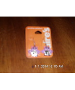 Claires Purple Bat Earrings Pierced - $3.99