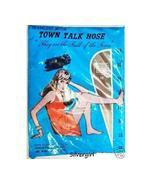 Vintage Seamless Mesh Dupont Nylon Stockings Cr... - $13.99