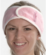 Aquis Diva Darling Headband - Microfiber - PINK - $4.00