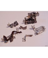 6 Singer Sewing Machine Attachments Parts Ruffl... - $34.65