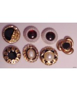 lot of 7 Elegant Formal or Career Button Covers - $15.95