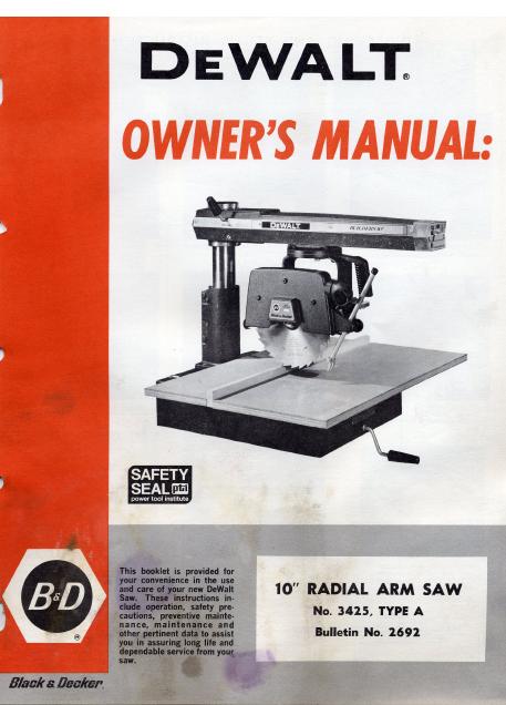 black and decker start it manual