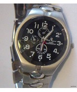 CHARLES RAYMOND NEW YORK MANS WRISTWATCH Batter... - $37.95
