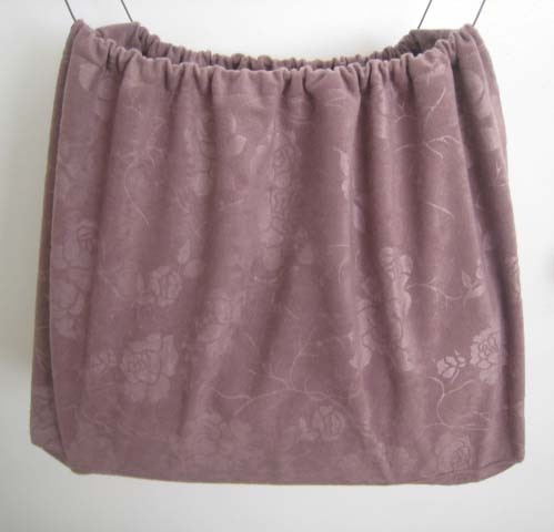 Duster Dust Bag Cover 4 Purse Shoes Twilight Mauve Rose Fitt