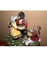 Demdaco Woodsong Everlasting Love Porcelain Fig... - $19.79