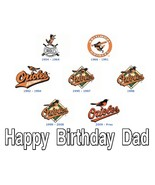 Vintage Baltimore Orioles Logo  Custom Cake Top... - $7.99