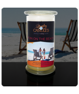 FUN ON THE BEACH- Jewelry In Candles - $32.00