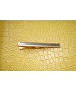 Men vintage silver gold tone raised long classi... - $12.99