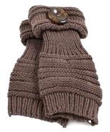 Amber Grey Fingerless Gloves Stylish Sensual Lo... - $16.80