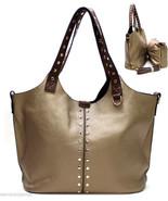 Ladies Rhinestone Gold Studded Handbag Purse Ma... - $46.48