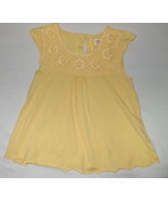 Girls Oshkosh Yellow Cap Sleeve Top Size 4