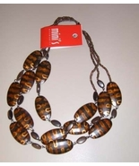 Wood Bead Necklace - $4.99