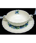 Two Spode Copeland Valencia Pattern Cream Soup ... - $39.59