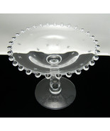 Imperial Glass Candlewick Starlight Cut Compote - $44.50