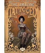 The Amazing Tattooed Lady Poster - $4.95
