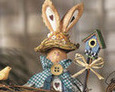 Image 1 of Boy & Girl Bunny Gardeners